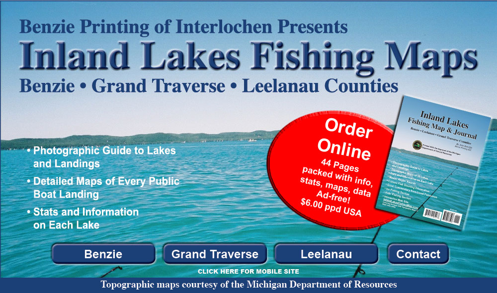 Inland Lakes Fishing Map